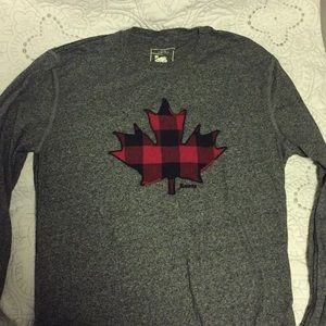Roots Canada Maple Leaf tee